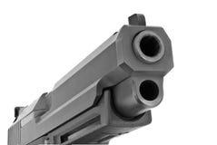 Grande pistola de 9 milímetros Foto de Stock