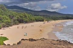 Grande plage Image libre de droits