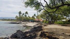 Grande plage d'île Image stock