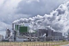 Grande planta industrial imagem de stock royalty free