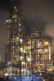 Grande plate-forme pétrolière Image libre de droits