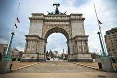 Grande plaza Brooklyn, NY dell'esercito Fotografia Stock Libera da Diritti