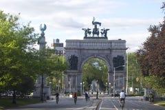 Grande plaza dell'esercito Fotografia Stock
