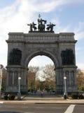 Grande plaza dell'esercito a Brooklyn, New York City fotografia stock libera da diritti