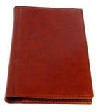 Grande pochette en cuir rouge. Photos stock