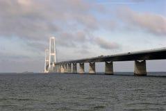Grande ponte de suspensão da correia Imagem de Stock