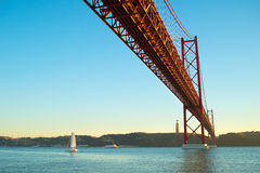 Grande ponte, Portugal Imagem de Stock Royalty Free