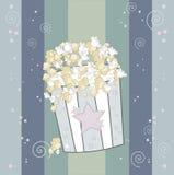 Grande popcorn Fotografie Stock