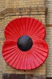 Grande porte Manchester commémoratif Victoria Station de Poppy Near Soldiers photos stock