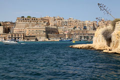 Grande porto, Malta Fotografia Stock