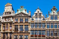 Grande posto, Bruxelles. Fotografia Stock Libera da Diritti