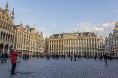 Grande posto di Bruxelles Fotografia Stock
