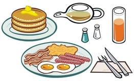 Grande prima colazione Fotografia Stock