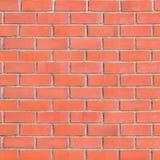 Grande priorità bassa rossa Grungy del muro di mattoni Fotografie Stock Libere da Diritti