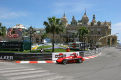 Grande Prix Historique Monte Carlo Immagine Stock