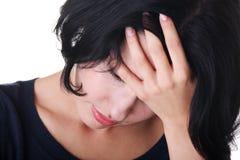 Grande problema o depressione Immagini Stock Libere da Diritti