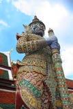 Grande protezione di palazzo - Bangkok Immagine Stock Libera da Diritti