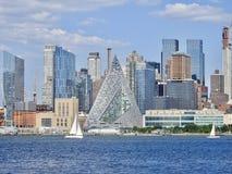 Grande pyramide de New York City Images stock