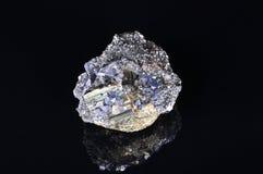 Grande pyrite avec de la galène Image libre de droits
