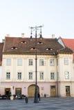 Grande quadrato a Sibiu Immagini Stock Libere da Diritti