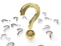 grande question Image stock