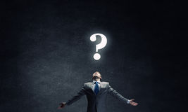 grande question Photo stock