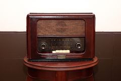 Grande radio de vintage photo libre de droits
