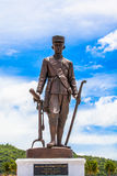 Grande re delle statue della Tailandia nel parco di Rajabhakti Fotografie Stock