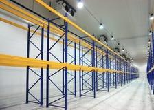 Grande recentemente costruisca il magazzino Immagini Stock