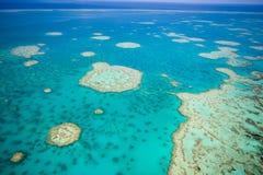Grande recife de barreira do céu Imagens de Stock Royalty Free