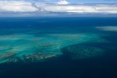 Grande recife de coral Foto de Stock Royalty Free