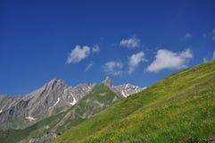 Grande regione di St. Bernard, alpi italiane, la valle d'Aosta. Immagine Stock Libera da Diritti