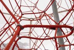 Grande rete della corda Immagini Stock Libere da Diritti