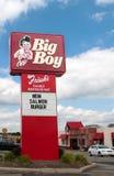 Grande ristorante del ragazzo del Frisch Immagini Stock Libere da Diritti