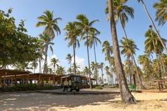 Grande ristorante della spiaggia del palladio Immagine Stock