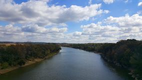 Grande rivière vers Nashville Photographie stock