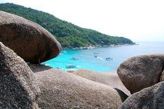 Grande roccia Immagini Stock