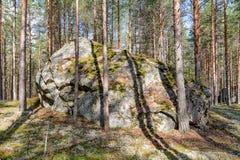 Grande roccia Fotografie Stock