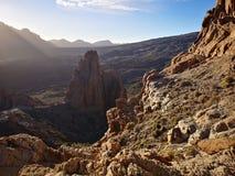Grande roccia del punto fotografie stock libere da diritti