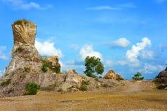 Grande roccia, forma stupefacente Fotografia Stock