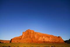 Grande roccia rossa Fotografia Stock