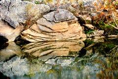 Grande roche Photos libres de droits