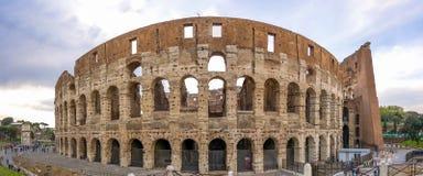 Grande Roman Colosseum Coliseum, Colosseo em Roma Imagens de Stock Royalty Free