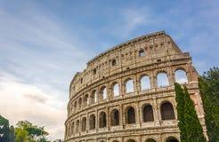 Grande Roman Colosseum Coliseum, Colosseo em Roma Imagem de Stock Royalty Free