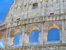 Grande Roman Colosseum Coliseum, Colosseo, Flavian Amphitheat Fotos de Stock Royalty Free