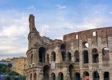 Grande Roman Colosseum Coliseum, Colosseo a Roma Fotografia Stock Libera da Diritti
