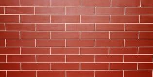 Grande rosse del muro di mattoni Fotografie Stock Libere da Diritti