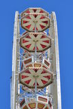 Grande rotella di Ferris Fotografie Stock