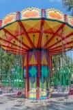 Grande rotonda nel parco della città di resto fotografie stock libere da diritti