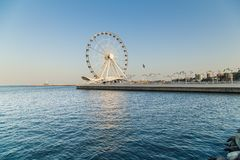Grande roue à Bakou photo libre de droits